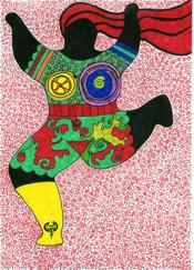 Nana nach Niki de Saint Phalle