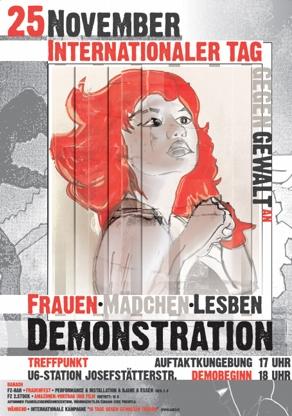 Frauendemo 25. November 2010