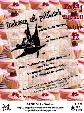 Flyer für 21.10.2011