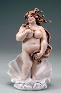 Skulptur Fatty Venus