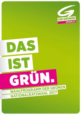 WahlprogrammGRÜNE-Cover